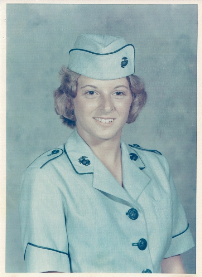 Gayle USMC Basic Training Photo Sep1975